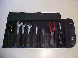 Ferrari Tool Kit_roll Bag_wrenches_screwdrivers_pliers_spark Plug Wrench_genuine