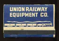 1930and039s 1940and039s Union Railway Equipment Ureco Refrigerator Car And Brakes Railroad