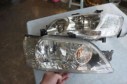 JDM MITSUBISHI LANCER CEDIA CS5W CS2W CS5A clear headlights 2000 03