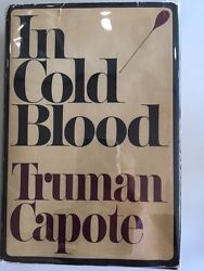In Cold Blood Signed Truman Capote First Edition 1st Printing Book 1965