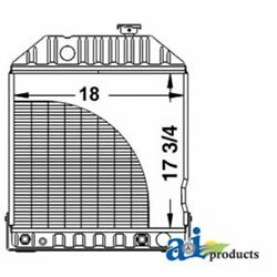 A-e7nn8005ba For Ford Tractor Radiator 5110 6410 6610 7410 7610