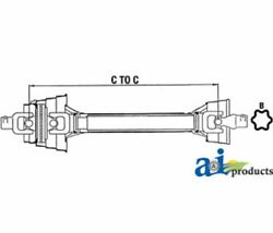 A-84607936 For Ford Tractor Complete 80anddeg Cv Driveline Bb940p Bb940r Bb940s 59