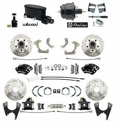 Chevy Belair 55-58 Front And Rear Wilwood Disc Brake Kit Booster Conversion Kit