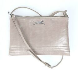 BIMBA Y LOLA CROSS BODY LEATHER BAG BOLSOS CARTERA CROSSBODY BAG $119.90