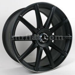 Mercedes S-class Genuine Amg Forged Black Front Wheel C217 W222 2013 And Up New