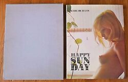 Karl De Haan Happy Sun Day - 1969 1st Edition And 1st Print In Rare Slipcase Fine