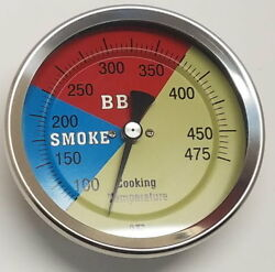 4 Rwb Bbq Charcoal Gas Electric Grill Smoker Pit Oven Thermometer 475 Gauge
