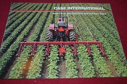 Case International Row Crop Cultivators And Rotary Hoes Dealer's Brochure Yabe10