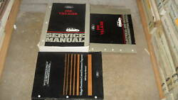 1995 FORD MERCURY VILLAGER VAN Service Shop Repair Manual Set 95 OEM BOOK