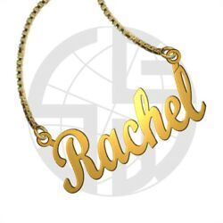 Personalized Handmade 22k Gold Plated Name Necklace With Any Name In English Sb