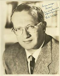 Paul Weston Original Vintage Handsigned Photograph 1950and039s