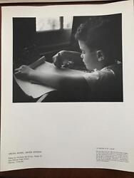 1959 Kodak National Photo Contest For High School Students- Child Coloring