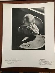 1959 Kodak National Photo Contest For High School Students- Bowl Of Soup