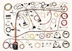 60-64 Ford Galaxie Mercury Full Size American Autowire Wiring Harness Kit 510591