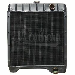 Made To Fit Case Fits Ih Backhoe Radiator 19 1/4 X 19 3/4 X 4 1/16 590 Turbo Bac