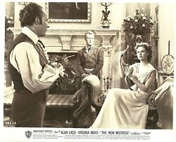 Virginia Mayo And Alan Ladd In The Iron Mistress Original Vintage Photo 1952