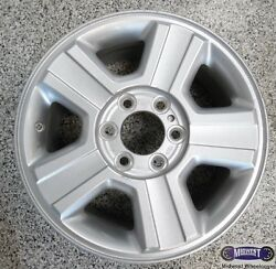 '04-'08, Ford, Used Rims, 17x7-1/2, 6 Lug, 135mm, 5 Grooved Spokes, Alloy 3554