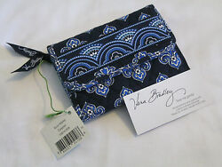 Vera Bradley CALYPSO Euro WALLET Coin TRIFOLD Clutch CARDS for TOTE Backpack NWT $59.95