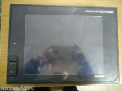 1pcs Used Mitsubishi Touch Screen Gt1575v-stba + Gt15v-75v4r1 Tested Ok