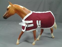 6 Pack of Royal Colored Model Horse Tack Blankets Fits Breyer