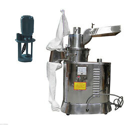 40kg/h Automatic Continuous Hammer Herb Mill Grinder Df-40s Pulverizer 110v Y