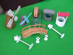 Britains Floral And Garden Ornaments And Bird Bath Multi-listing
