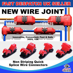 T I Type 1/2 Pin Glow-shine Quick Wire Splice Connector Without Stripping Wires