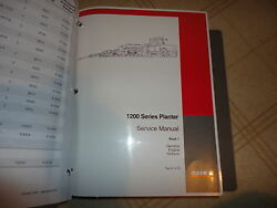 Case 1200 Series Planter And Early Riser Service Repair Manual