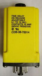 Tyco Potter And Brumfield Cdb 38 70014 .1-10 Second Time Delay Relay Timer