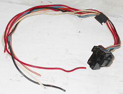 1968 Mustang Fastback Coupe Convertible Gt Shelby Dash Wiper Switch Wiring Plug