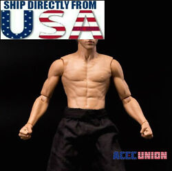 1 6 Muscular Male Figure Body GangHood 2.0 For Bruce Lee As Hot Toys DX04 USA