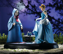Extremely Rare Walt Disney Cinderella And The Fairy Le Of 250 Statue