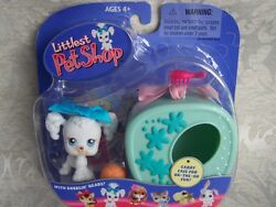 Littlest Pet Shop 2004 POODLE wCase lot #17 Rare Retired NIB! First 80 Pets!