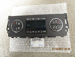07-11 CHEVY TAHOE AC HEATER CLIMATE TEMPERATURE CONTROL OEM BRAND NEW 25936130