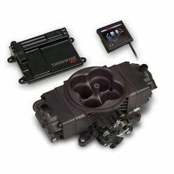 Holley 550-441 Terminator Stealth Efi 4bbl Throttle Body Fuel Injection System