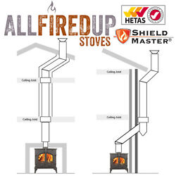 Complete Twin Wall Flue Pipe Insulated Flue System Package Shieldmaster