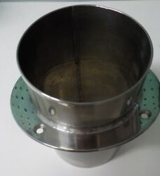 5 Stainless Steel Exhaust Tip W/ 1 Flange