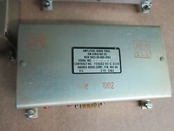 Amplifier Audio Frequency Mfr Andrea Radio Corp. P/n Am4346aic25 Alt A81-86