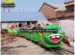 Amusment Theme Park Rides Carnival 16 Person Rotation Thrill Roller Coaster Park