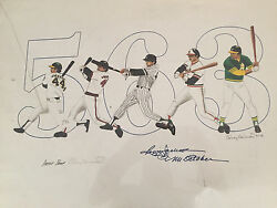 Rudy Edwards - One Of A Kind Poster - Reggie Jackson Signed