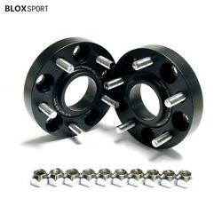 2x 1 Inch Wheel Spacers 5x114.3 5x4.5 For Ford Mustang Shelby Gt500 2006-2014