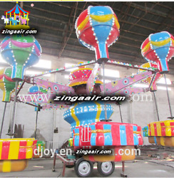 Mobile Amusment Theme Park Rides Carnival 32 Person Kiddie Thrill We Finance