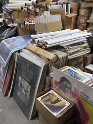 Huge Movie Poster Lobby Card Program Collection 75000 + pcs. 1940 through 1990s