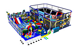 3000 sqft Commercial Trampoline Park Dodgeball Soft Play Playground We Finance