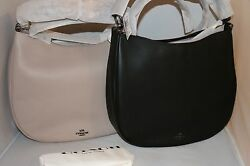 COACH Nomad Hobo Bag in Willow Floral - Black or Grey Birch - 55543