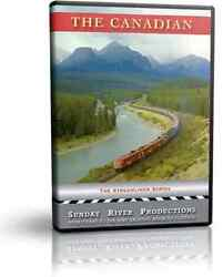 Canadian Pacific's Streamliner, The Canadian - Sunday River Train Dvd Video