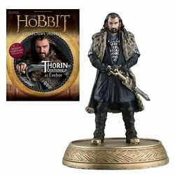 Eaglemoss Thorin 2 Dwarf Figurine And Magazine Hobbit Lord Of The Rings Lotr