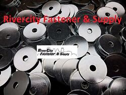 5 Extra Thick Heavy Duty Fender Washers 3/8 X 2 Large Od 3/8x2