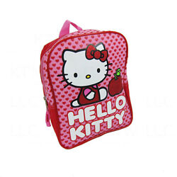 New Sanrio Hello Kitty Red Hearts 10quot; Kids Boy Girl School Bag Backpack Supplies $8.99