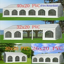 Pvc Party Tent - Wedding Carport Canopy 40and039x20and039/32and039x20and039 And More - X20and039 Series
